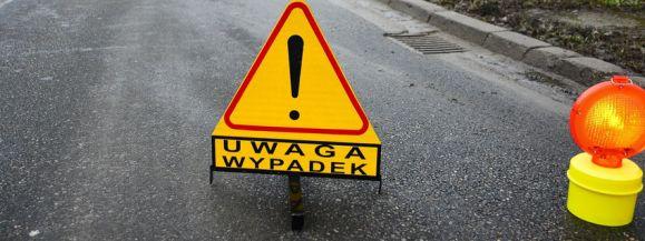 UWAGA – WYPADEK!