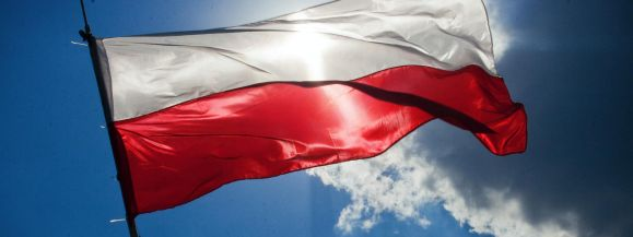 FLAGA NA MASZT