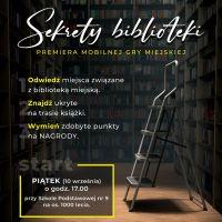 """""""SEKRETY BIBLIOTEKI"""""""